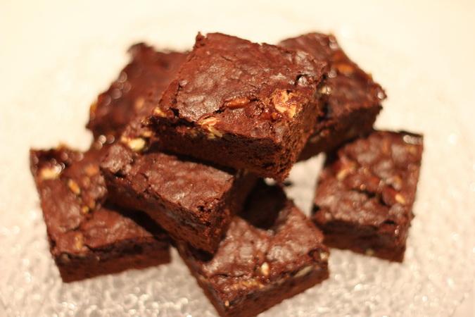 Súkkulaði og karamellu brownies