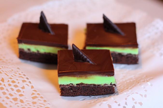 Piparmyntu Brownies