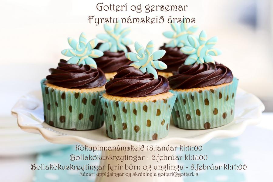 Fyrstu námskeið ársins að hefjast