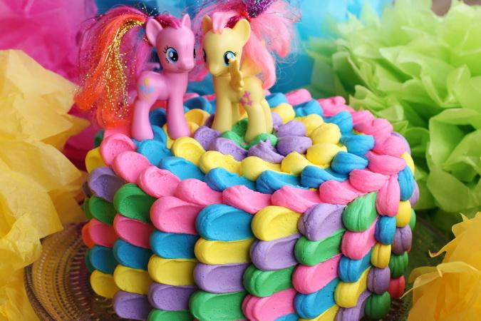 Pony Regnbogakaka