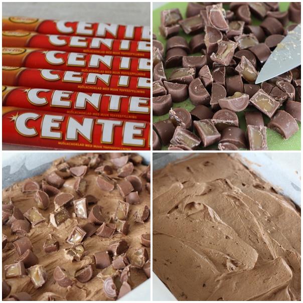 Center brownie