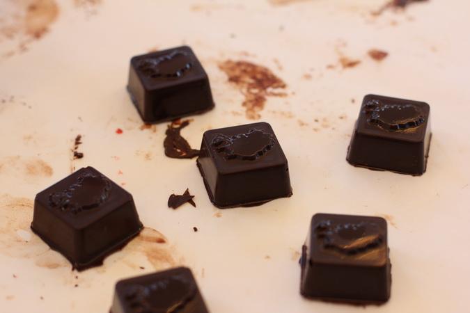 Chocolate Trailer og temprun á súkkulaði