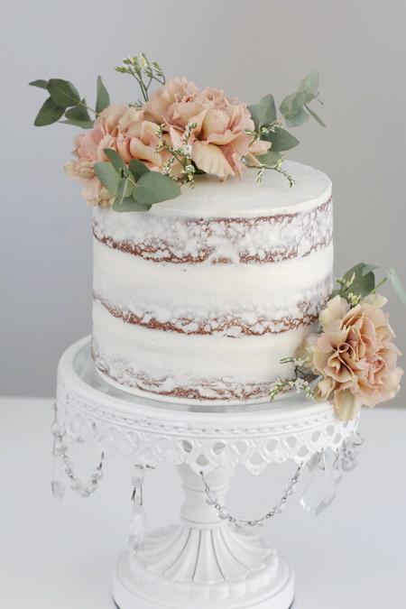 Gulrótar Naked Cake
