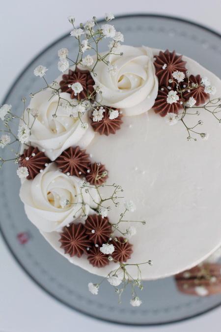 Súkkulaði Naked Cake