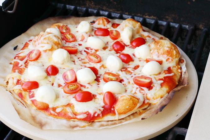 Pizza með Weber