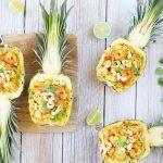 Fylltur ananas