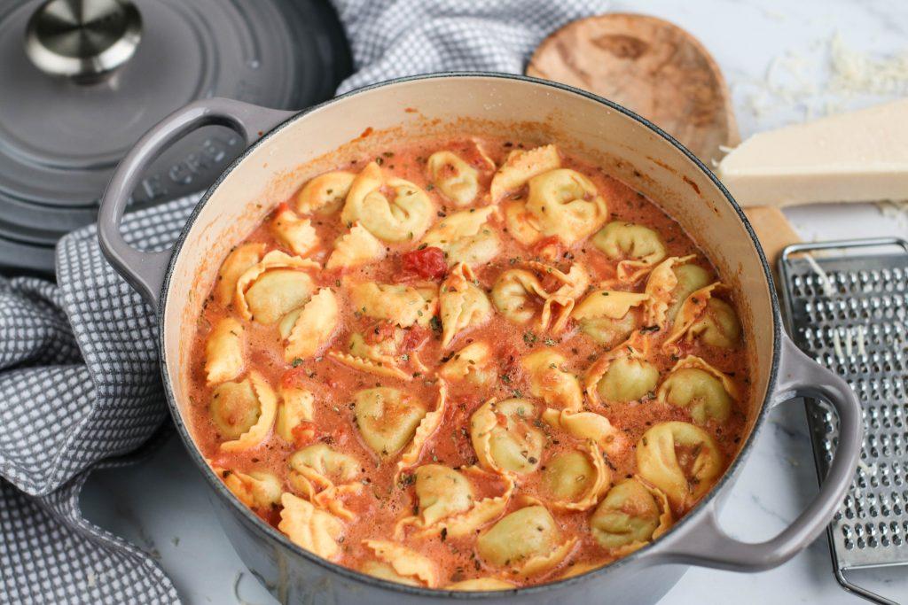 Tómatsúpa með pasta
