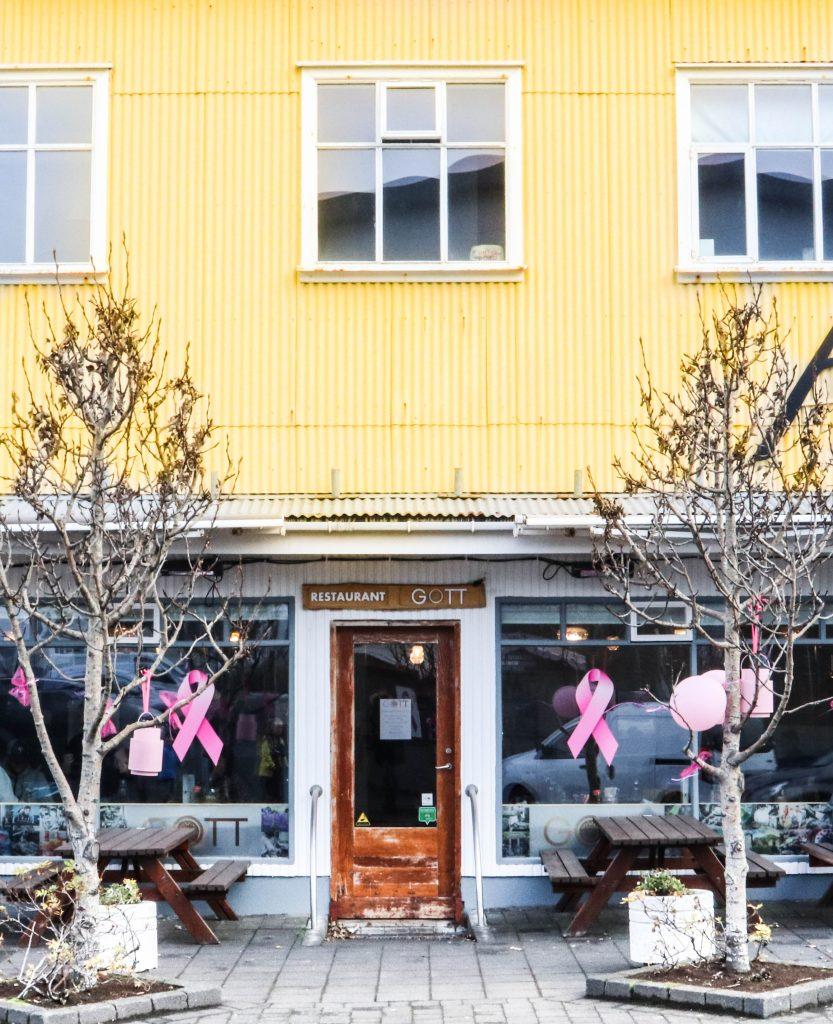 Gott restaurant; veitingahús Vestmannaeyjar