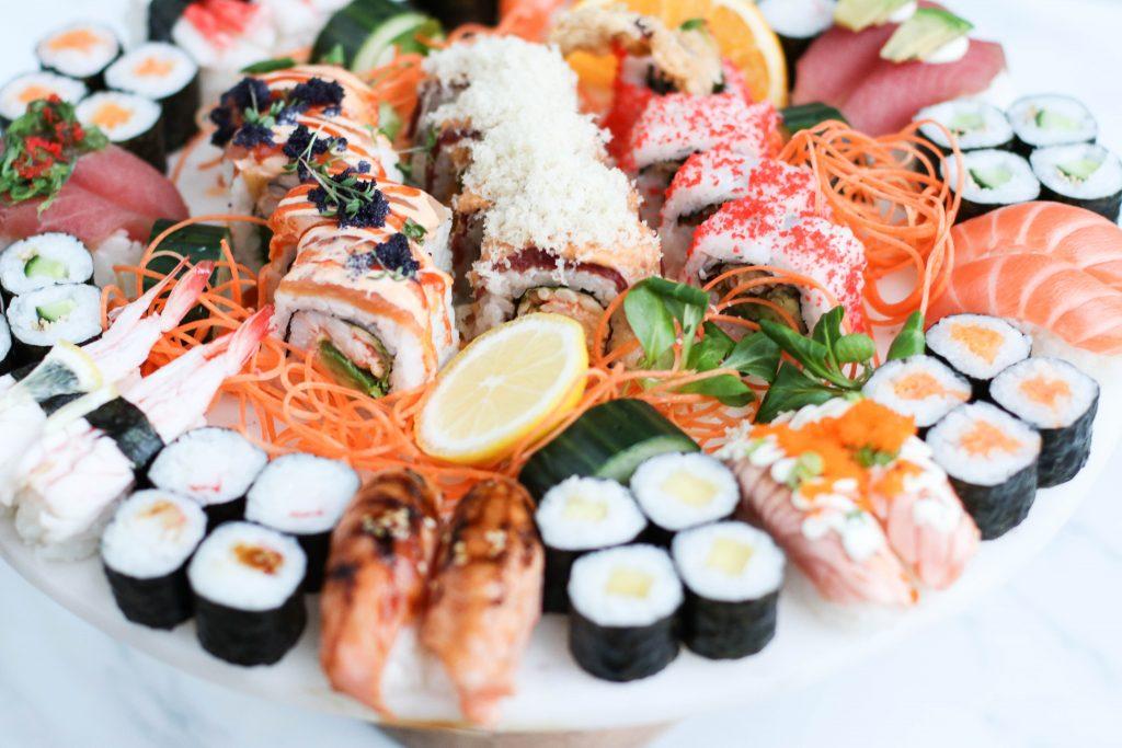 Sushi á íslandi