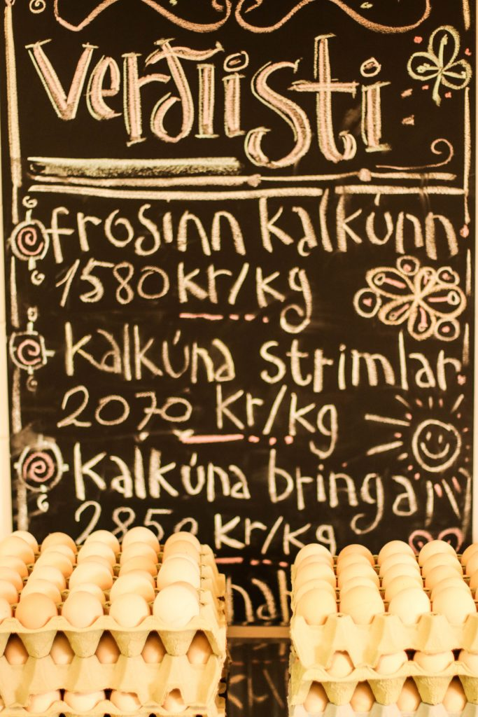Holda kalkúnn; Reykjabúið