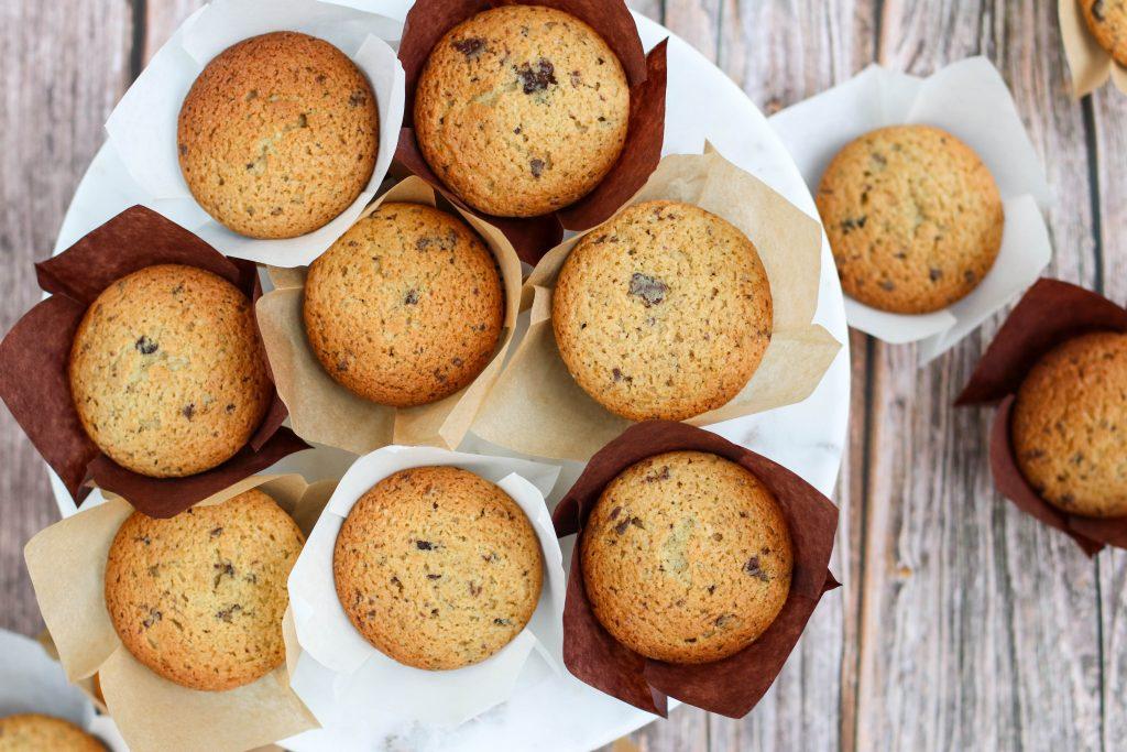 Möffins með kaffijógúrti