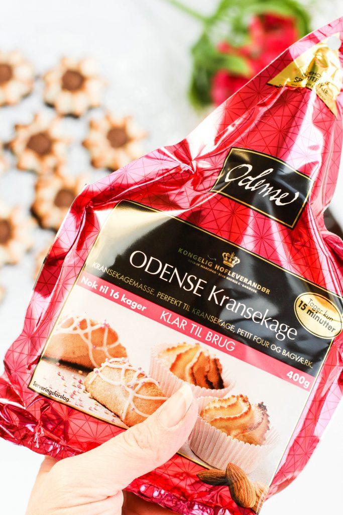 Kransakökutoppar; Odense marsipan; Kransekage; kransakaka; konfekt