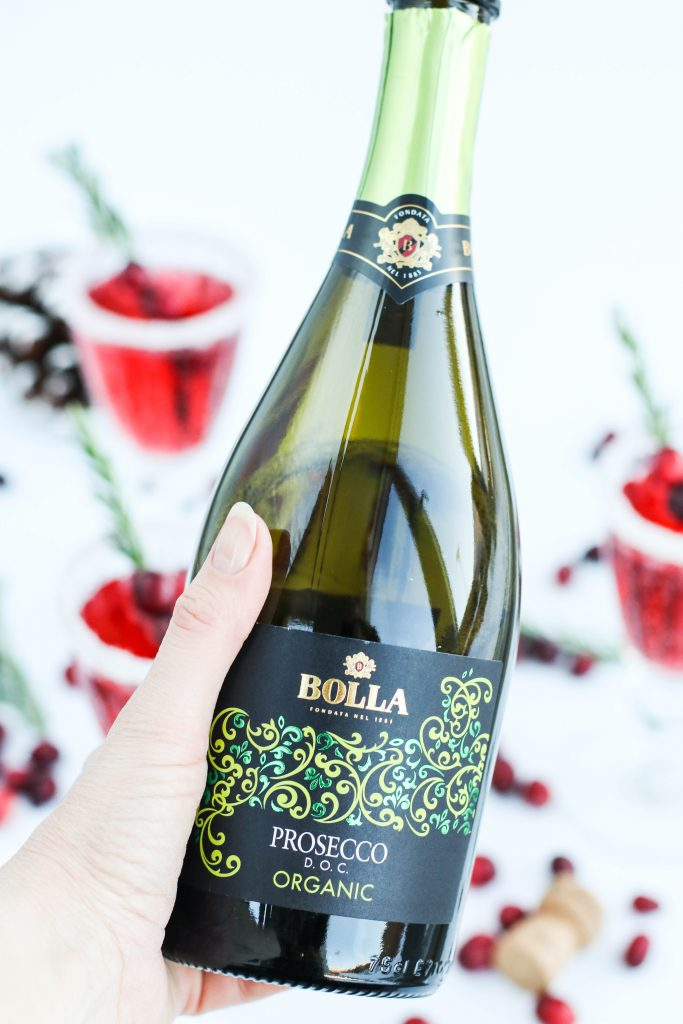 Bolla Prosecco Organic; trönuberjafreyðivín