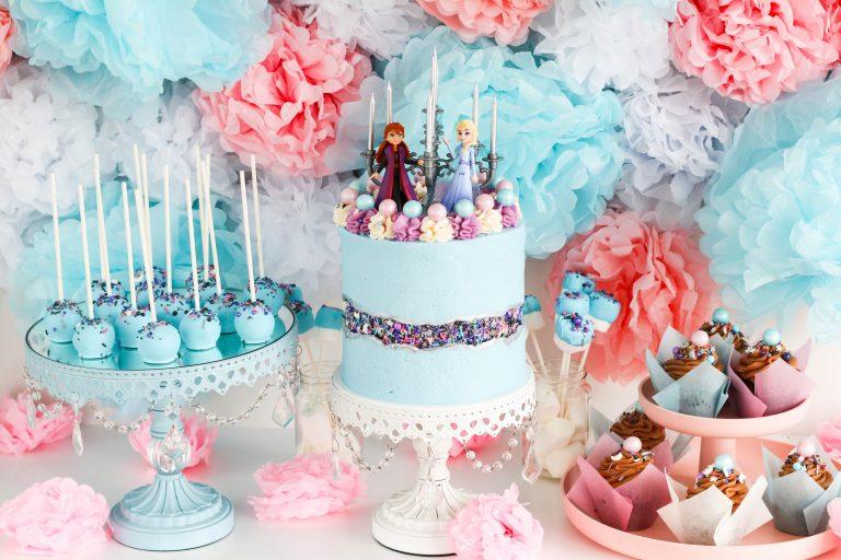 Frozen afmæli, Frozen birthday theme