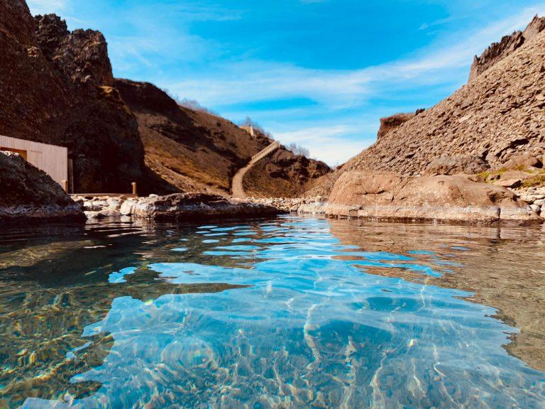 Canyon Baths í Húsafelli eða Giljaböð, frábær upplifun