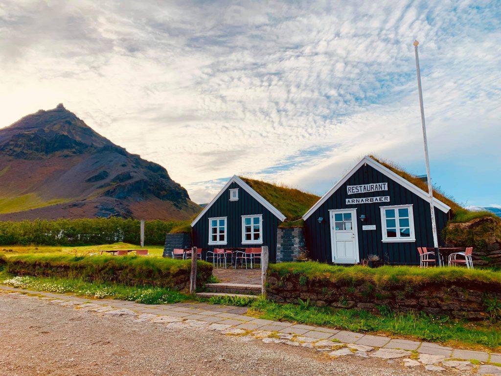 Arnarstapi Center Snæfellsnesi, veitingastaður á Arnarstapa og kaffihús