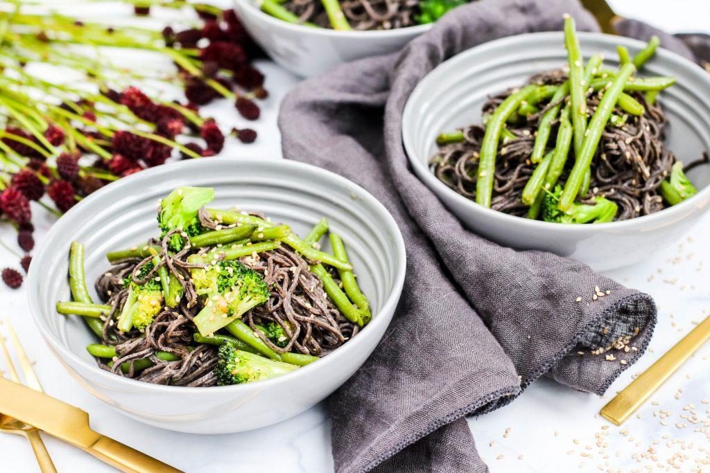 Explore Cuisine baunapasta með pestó eða sesamolíu