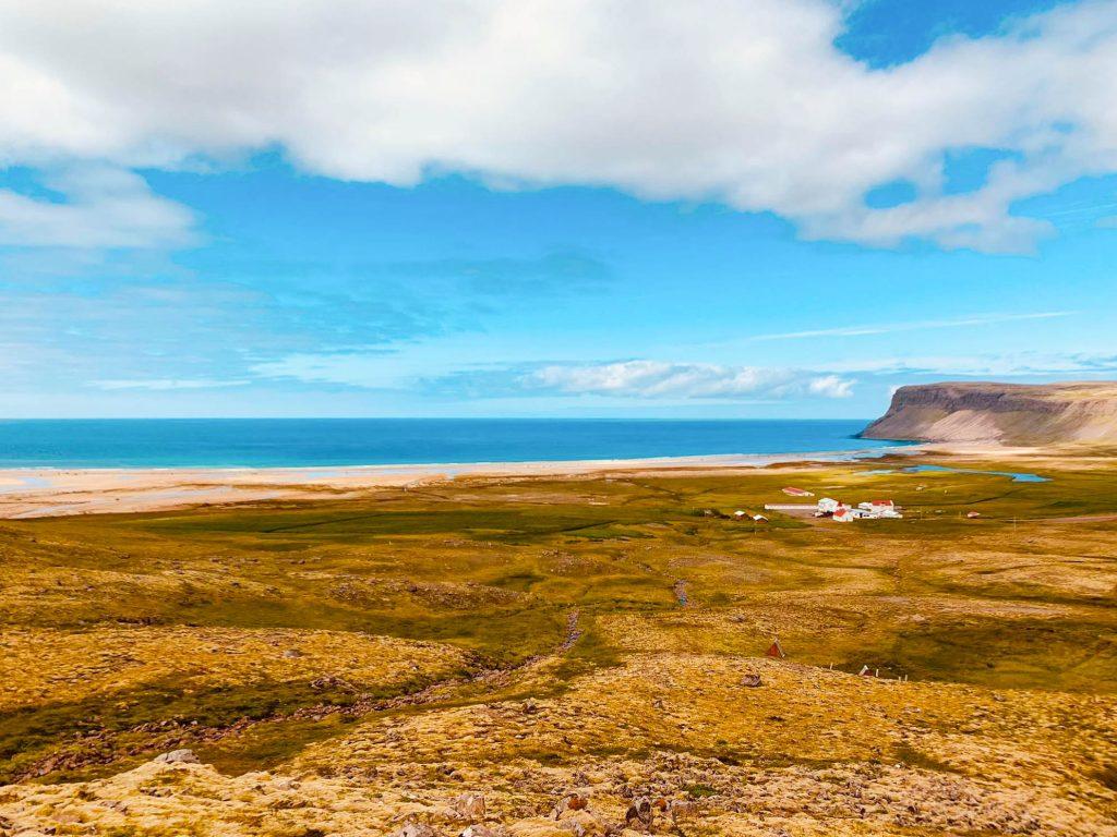 Hamborgarar á Hótel Breiðavík við Látrabjarg, skemmtilegar nýjungar
