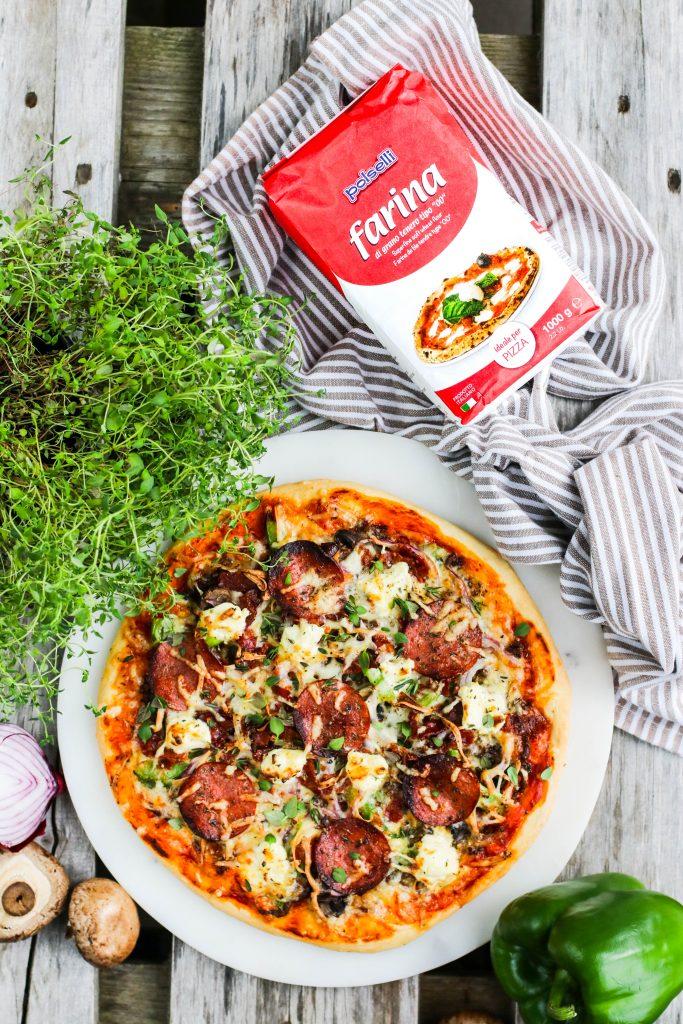 Heimagerð pizza með Polselli hveiti