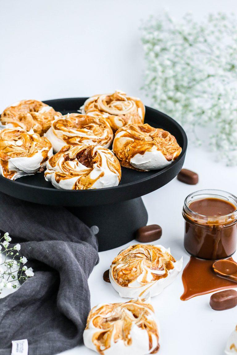 Marengstoppar með karamellu