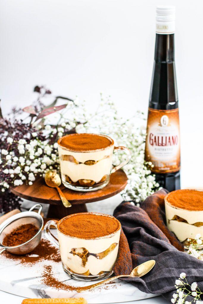 Tiramisu uppskrift með Galliano líkjör