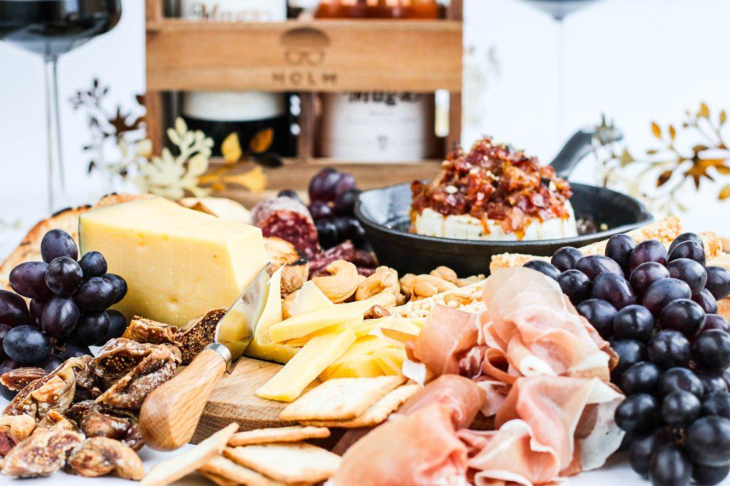 Ostabakki og bakaður ostur