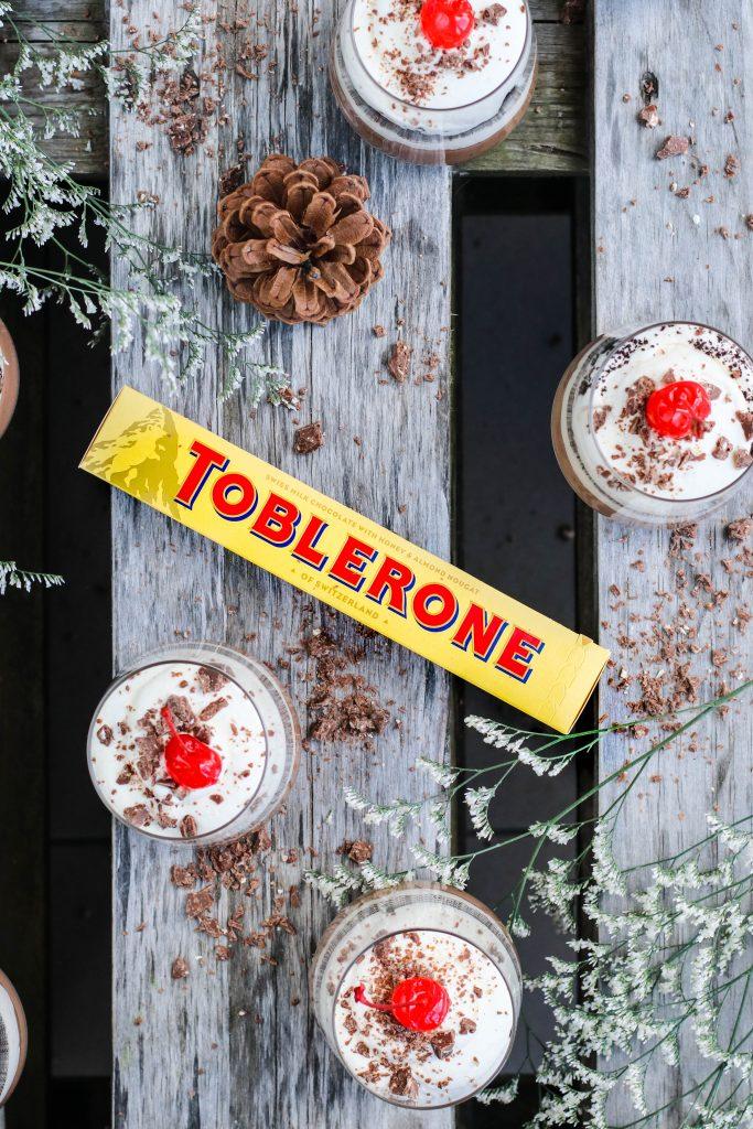 Toblerone ostakaka