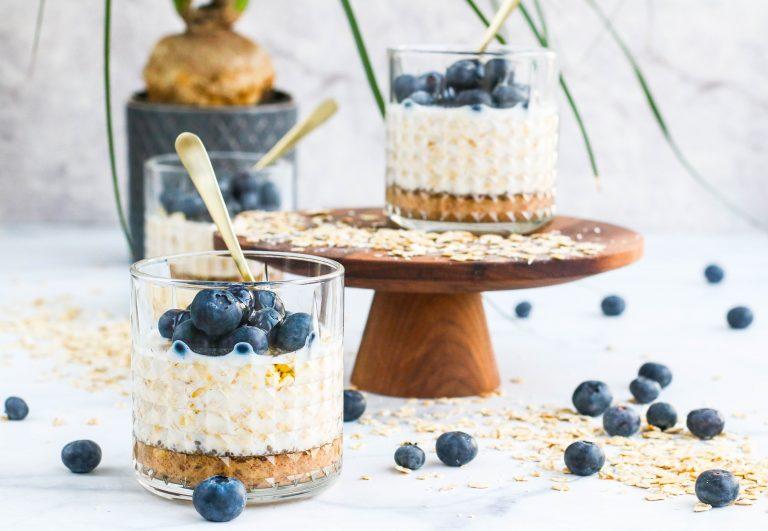 Overnight oat með chia og gott millimál