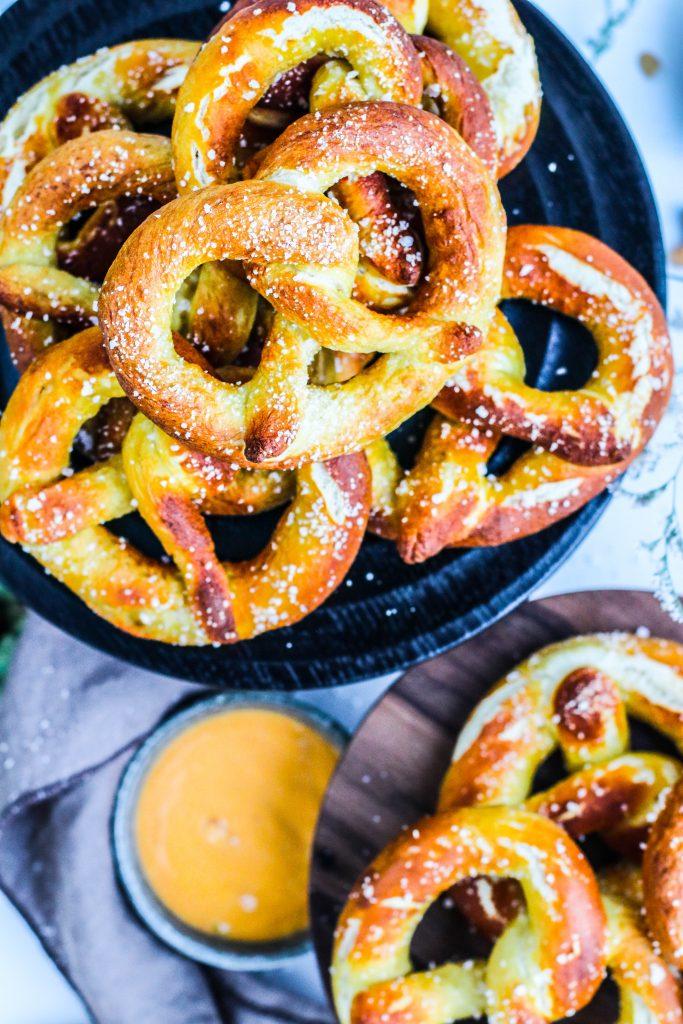 Heimabakaðar pretzels eða saltkringlur