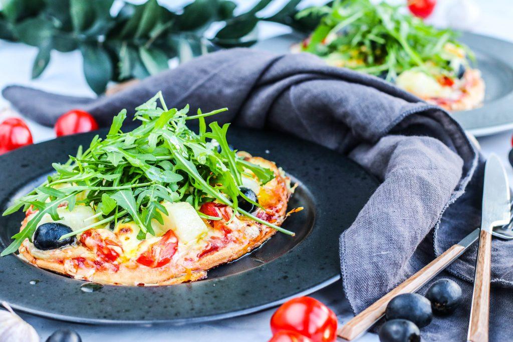 Saltfiskpizza uppskrift
