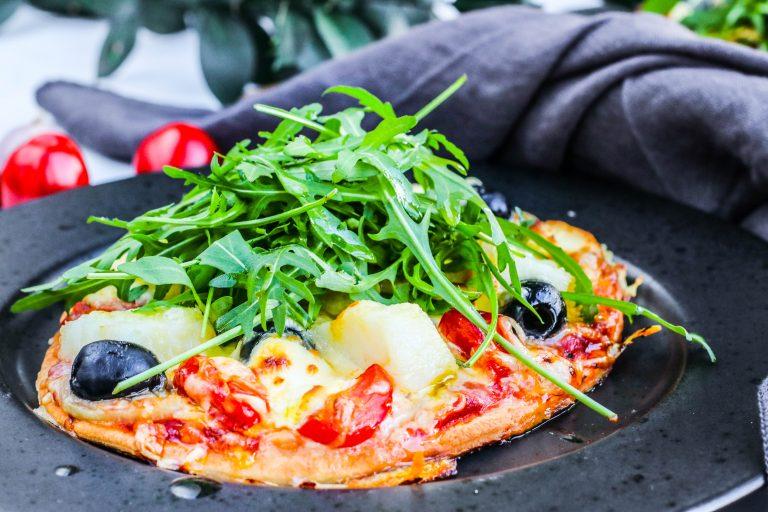 Fizza eða pizza með saltfisk