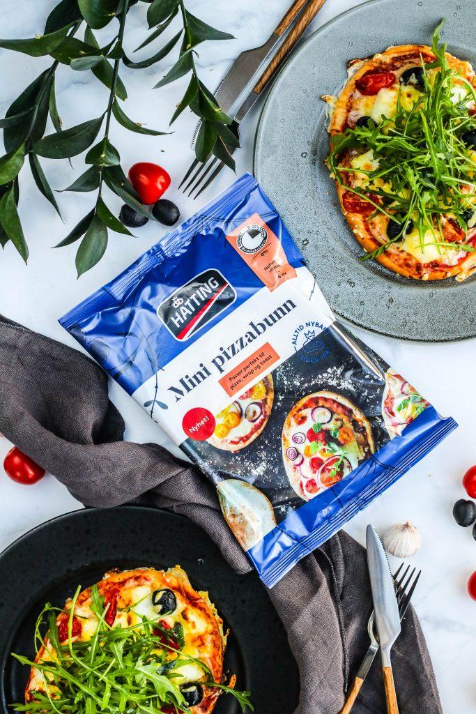 Hatting pizzabotnar eru fljótleg leið til að elda pizzu