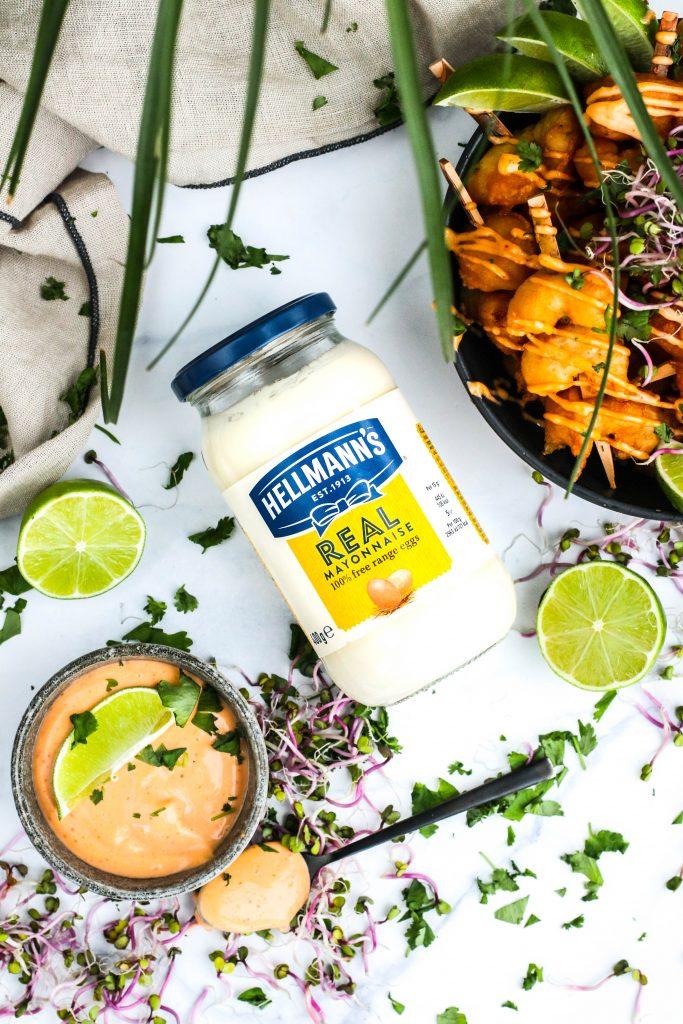Chili majónes með Hellmann's majónesi