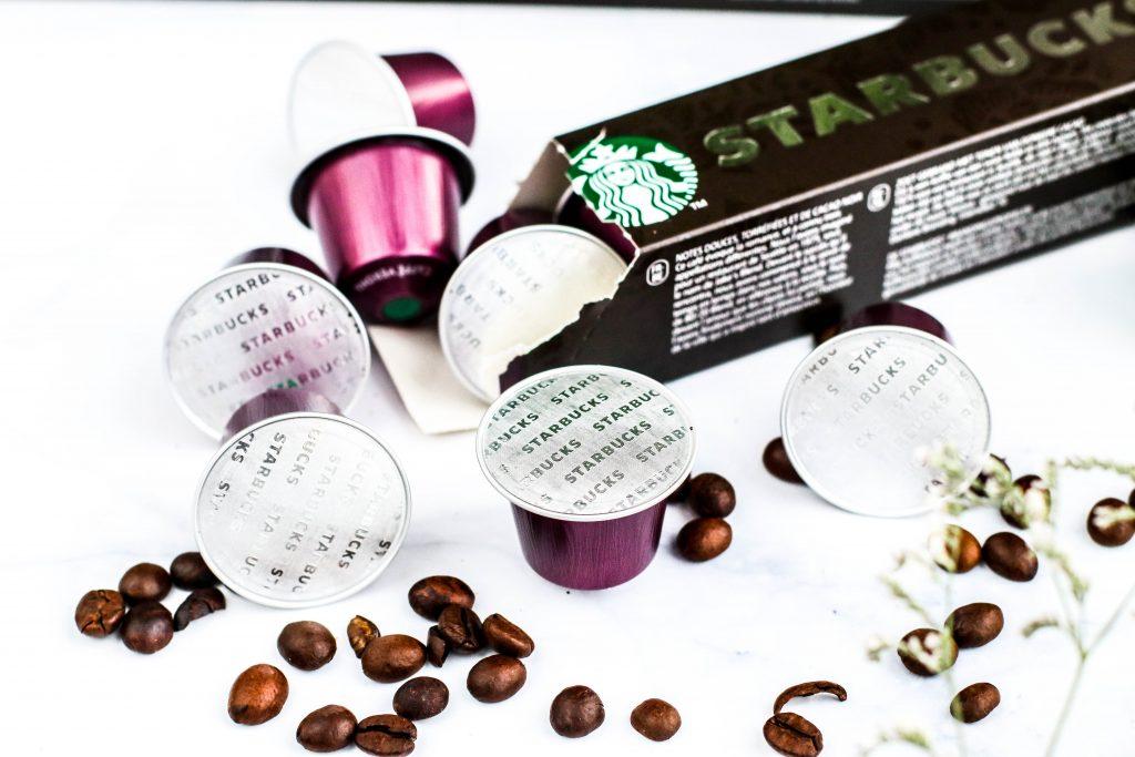 Starbucks kaffi hjá Byggt og Búið