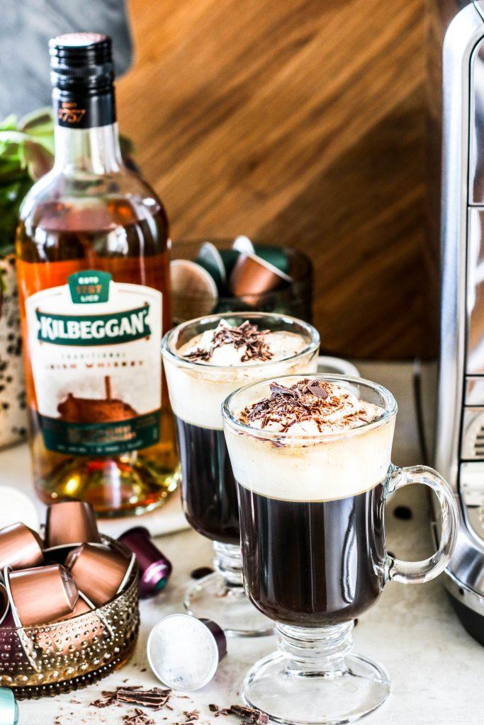 Kilbeggan Whiskey drykkur í Irish Coffee