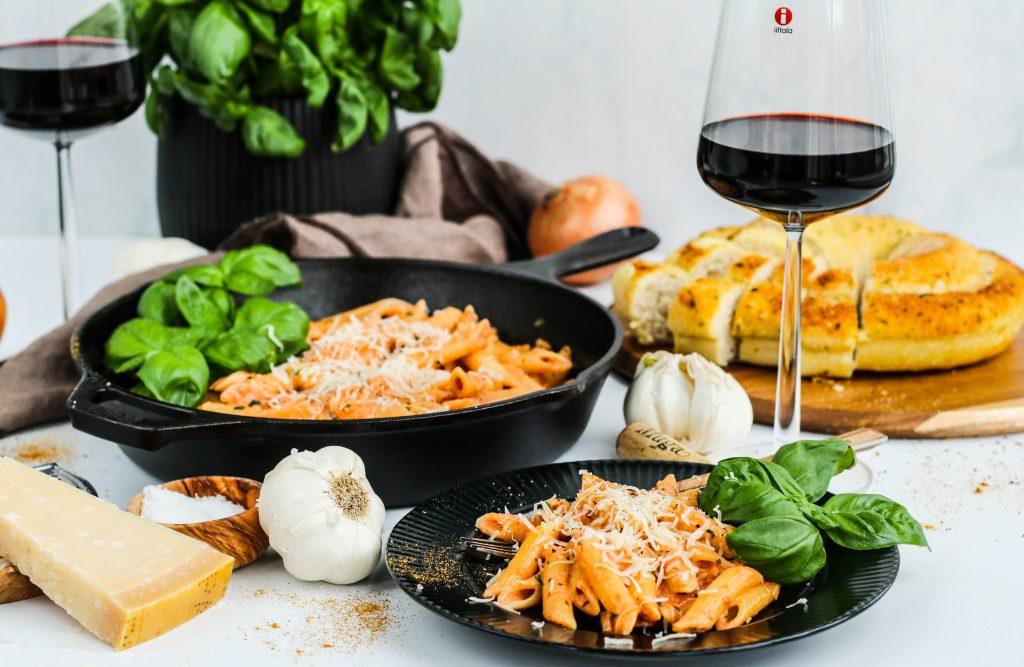 einfalt og fljótlegt pasta