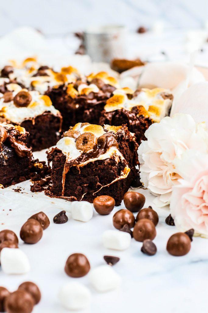Blaut brownie kaka