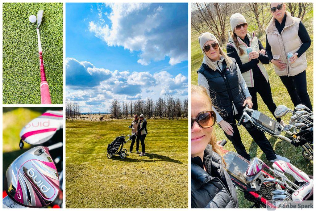 Golf á Flúðum