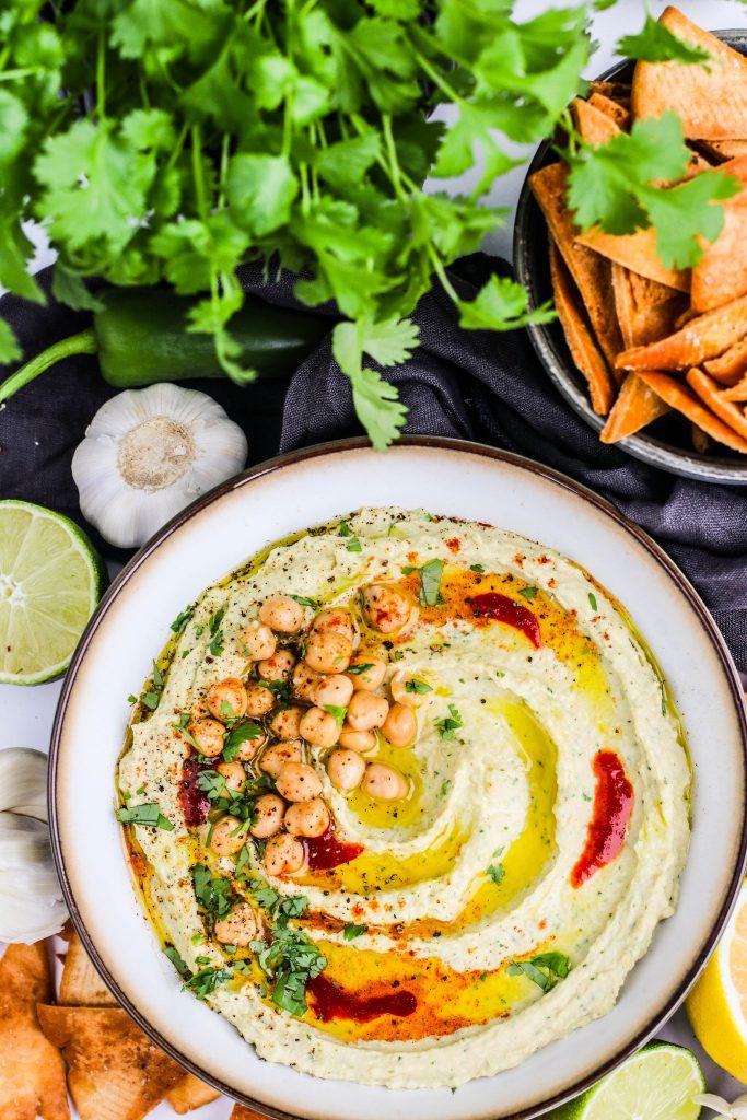 Hummus uppskrift