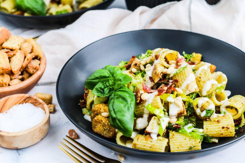 Gott pastasalat uppskrift