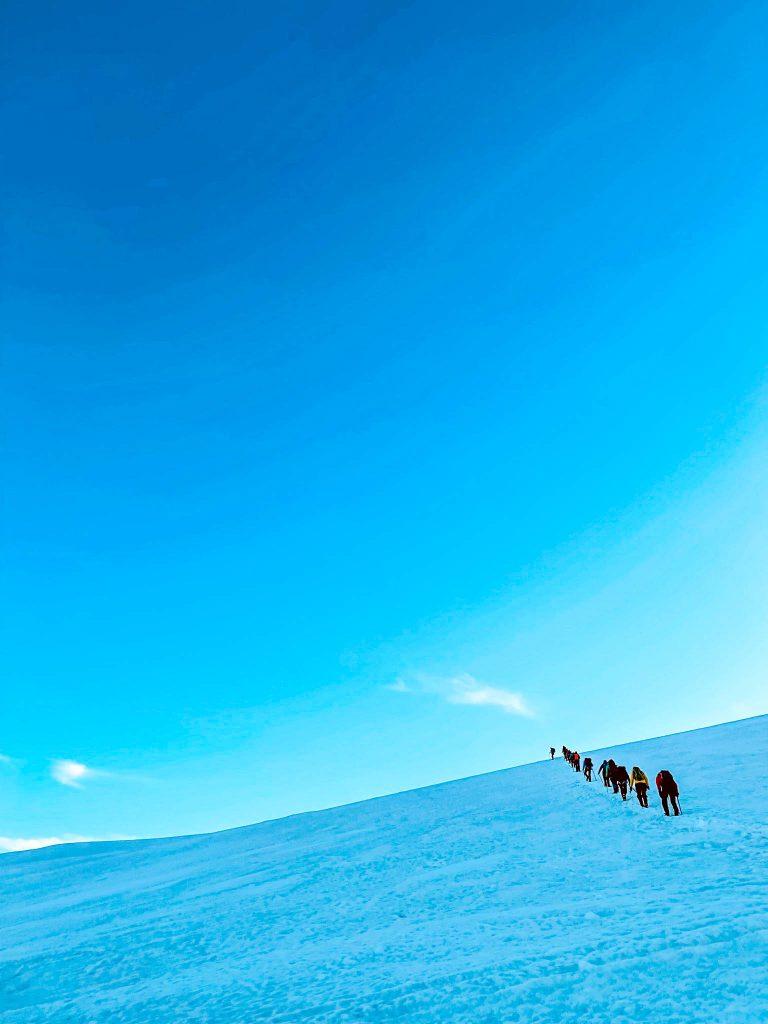 Hike to Snæfellsjökull