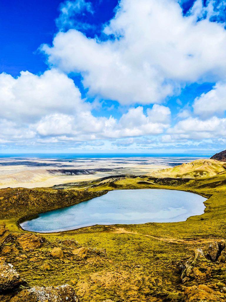 Grænavatn á Reykjanesi