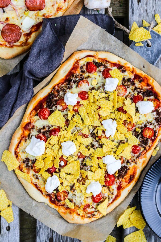 Mexíkópizza og föstudagspizza