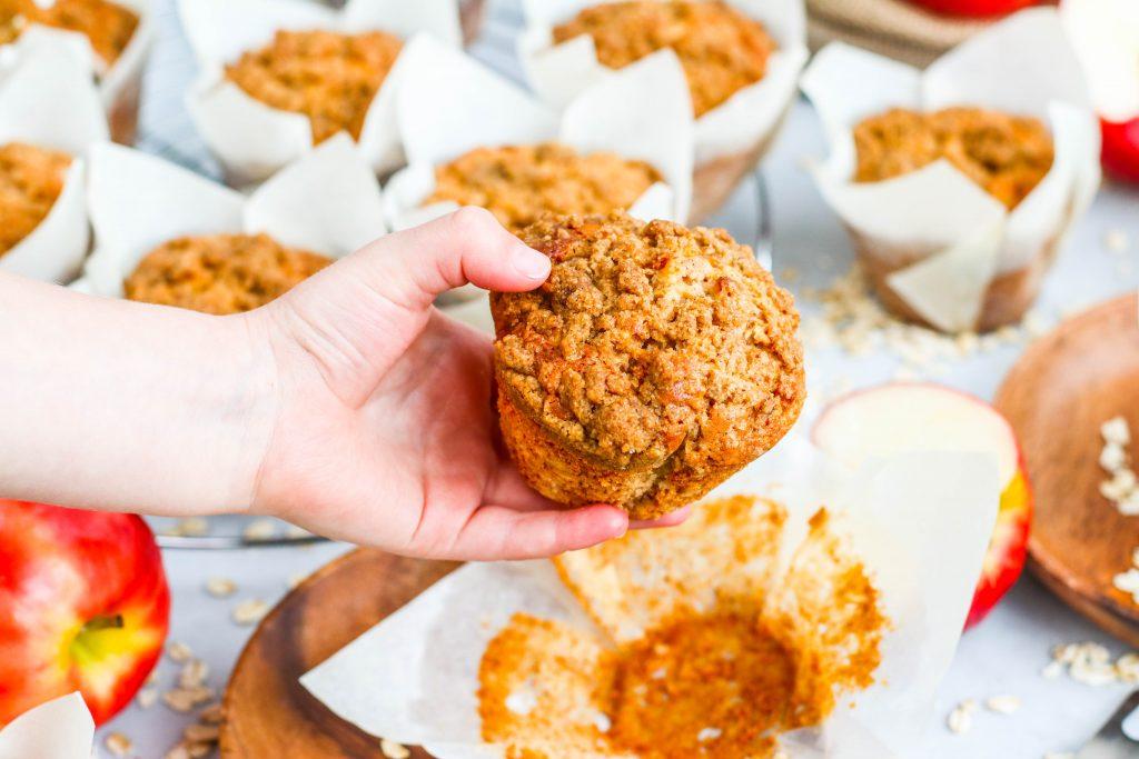 Muffins fyrir börn