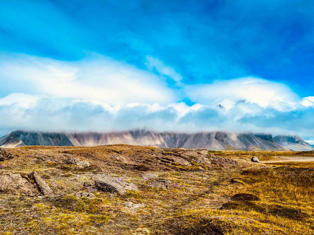 Vestrahorn við Höfn í Hornafirði